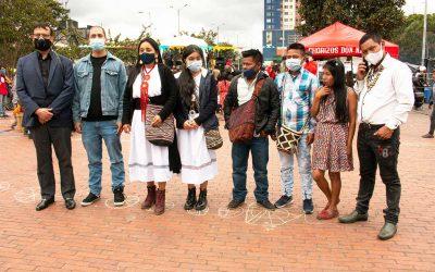 Comunidad Emberá en Bogotá Lucha por sus Derechos y Dignidad